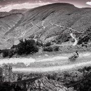 Mountain bikers take part in the HELL & BACK 2015 MTB Challenge from Oudtshoorn to Gamkaskloof or Die Hel, near Prins Albert in the Klein Karoo, Western Cape, RSA
